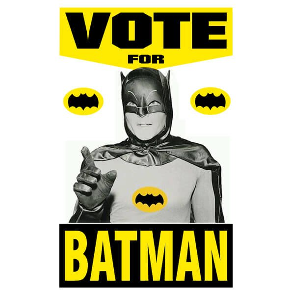 remeras vote for batman the wild. Black Bedroom Furniture Sets. Home Design Ideas